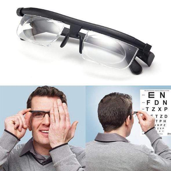 PERFECT VISION ADJUSTABLE FOCUS GLASSES