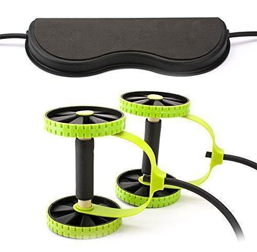 New Professional Sports Core Double AB Roller Exercise Workout Machine - Molyes Store