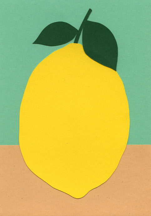 Handmade Paper Cut Out – Paper Lemon