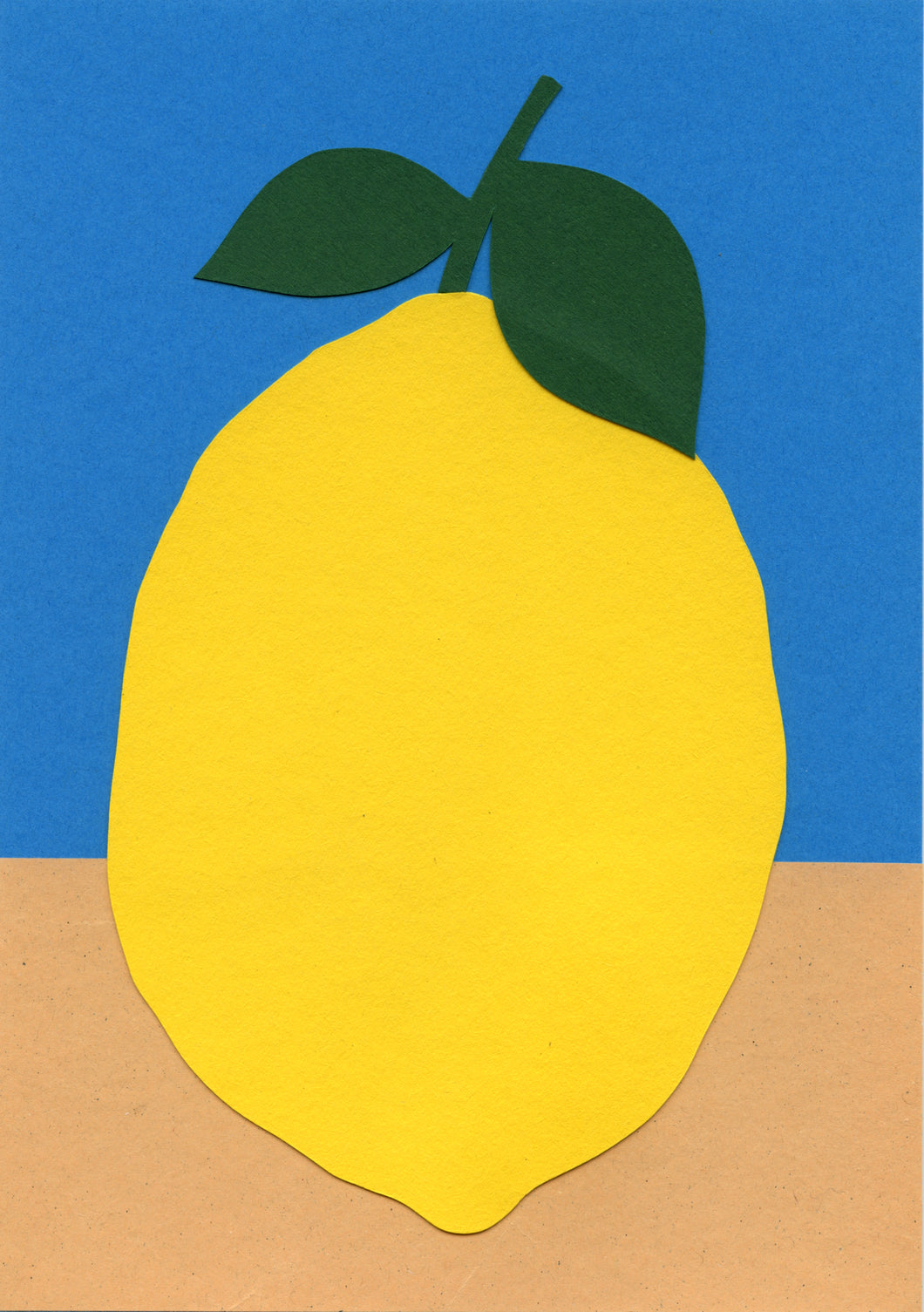 Handmade Paper Cut Out – Paper Lemon #5