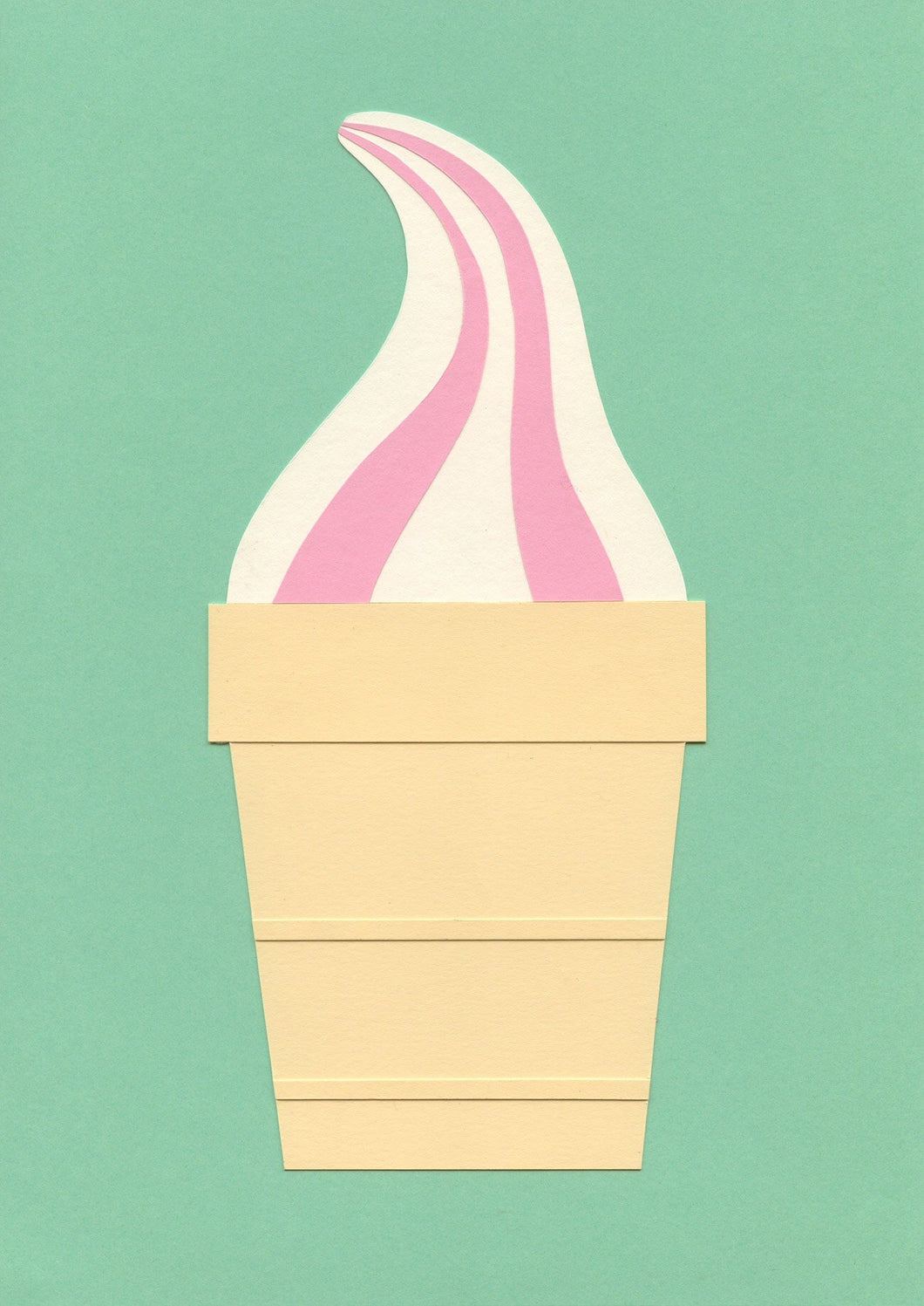 Vanilla Strawberry Ice Cream