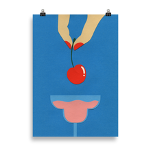 Load image into Gallery viewer, Poster Art Print Illustration - Cherry Nails II