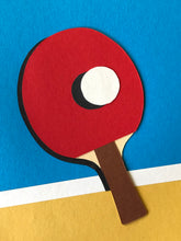 Load image into Gallery viewer, Handmade Paper Cut Out – Ping Pong Paper #5