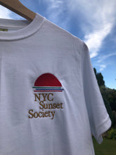Load image into Gallery viewer, Unisex Organic T-Shirt - NYC Sunset Society