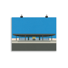 Load image into Gallery viewer, Poster Art Print Illustration – Neue Nationalgalerie