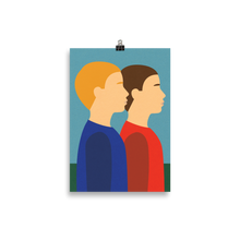 Load image into Gallery viewer, Poster Art Print Illustration – Two Brothers