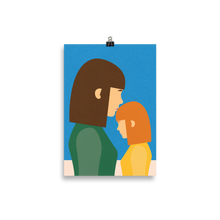 Load image into Gallery viewer, Poster Art Print Illustration – Mum And Daughter II