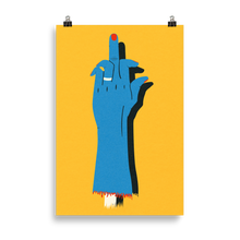 Load image into Gallery viewer, Poster Art Print Illustration – F**K OFF!