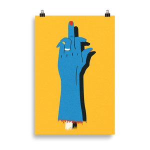 Poster Art Print Illustration – F**K OFF!