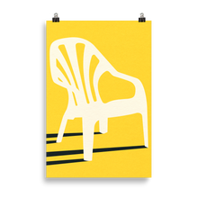 Load image into Gallery viewer, Poster Art Print Illustration – Monobloc Plastic Chair VI