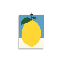 Load image into Gallery viewer, Poster Art Print Illustration – Lemon