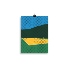 Load image into Gallery viewer, Poster Art Print Illustration – Forest Hills Tennis Club