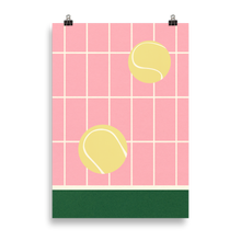 Load image into Gallery viewer, Poster Art Print Illustration – Tennis Kitchen