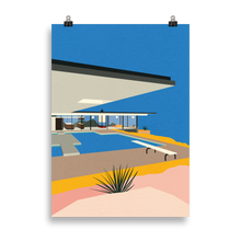 Load image into Gallery viewer, Poster Art Print Illustration – LA Stahl House