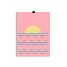 Load image into Gallery viewer, Poster Art Print Illustration – Every Day The Sun Rises