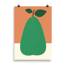 Load image into Gallery viewer, Poster Art Print Illustration – Pear