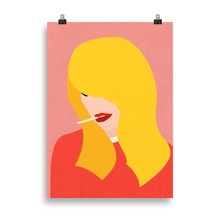 Load image into Gallery viewer, Poster Art Print Illustration – Brigitte