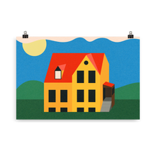 Load image into Gallery viewer, Poster Art Print Illustration – Not My House Anymore