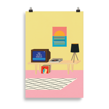 Load image into Gallery viewer, Poster Art Print Illustration – NO NEWS TODAY