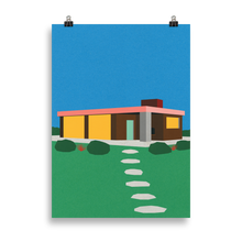 Load image into Gallery viewer, Poster Art Print Illustration – The Elster House