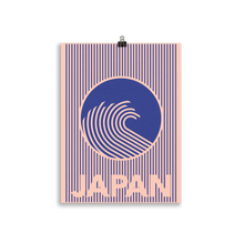 Load image into Gallery viewer, Poster Art Print Illustration – The Great Wave Of Japan