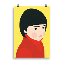 Load image into Gallery viewer, Poster Art Print Illustration – Osaka Girl