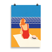 Load image into Gallery viewer, Poster Art Print Illustration – Still Summer