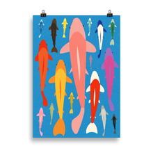 Load image into Gallery viewer, Poster Art Print Illustration – KOI