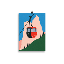 Load image into Gallery viewer, Poster Art Print Illustration – Allgäu Alps