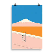 Load image into Gallery viewer, Poster Art Print Illustration – Fuji Pool