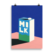 Load image into Gallery viewer, Poster Art Print Illustration – MILK