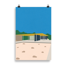 Load image into Gallery viewer, Poster Art Print Illustration – Ludwig Mies van der Rohe Barcelona-Pavillon