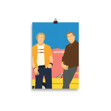 Load image into Gallery viewer, Poster Art Print Illustration – Cliff And Rick