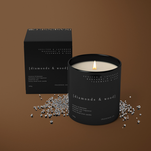 Visions - Wood Wick Candle - inasense co.