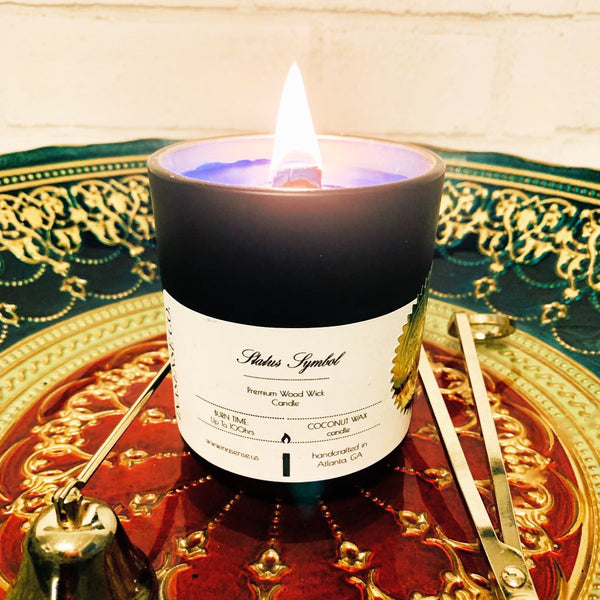 Status Symbol - Luxury Scented Candle - inasense co.