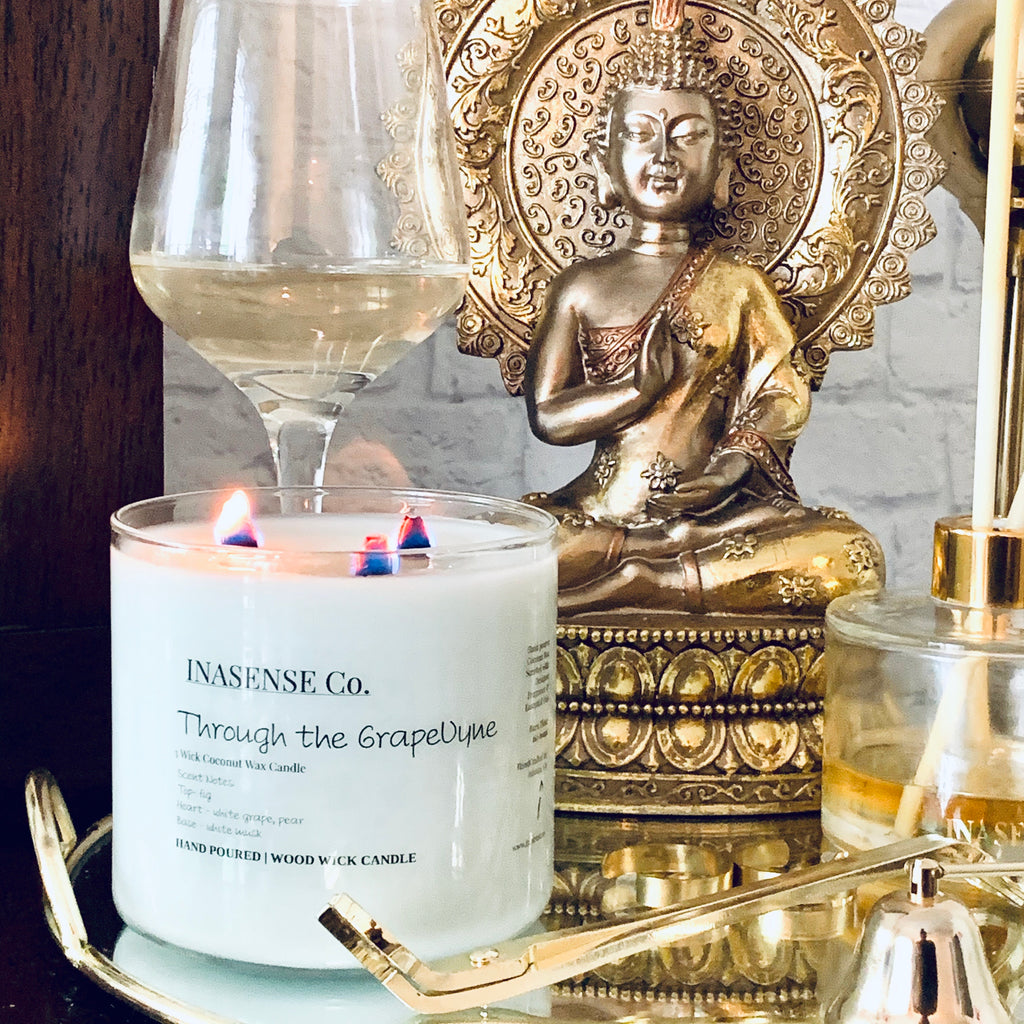 Through the Grapevyne | TRPLWik | Coconut Wax Candle | INASENSE Co.