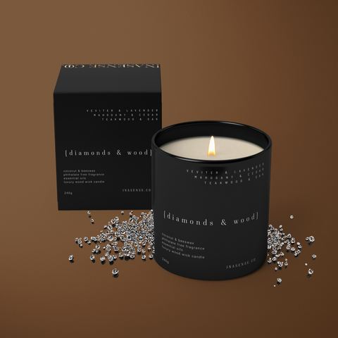 Visions - Wood Wick Candle