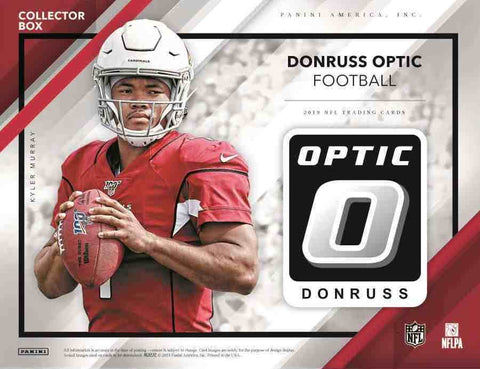 2019 Donruss Optic Football Collector Box