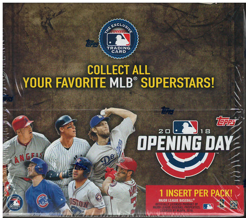 2018 Topps Opening Day Hobby Box