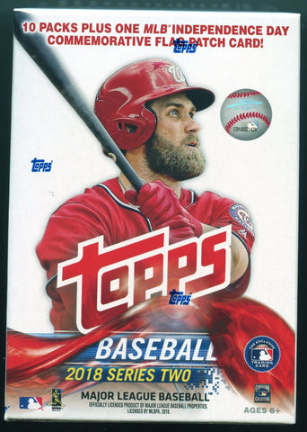 2018 Topps Series 2 Baseball Blaster Box