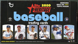3 Box Random Division Baseball Break.  2020 Series 1 Hobby, 2020 Donruss, 2020 Heritage