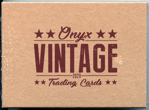 2020 Onyx Vintage Collection Baseball Box