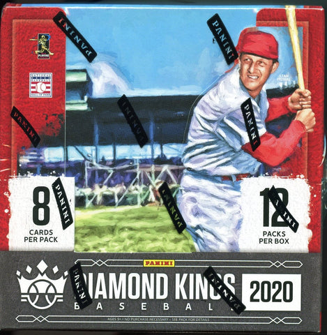 2020 Diamond Kings Baseball Hobby Box