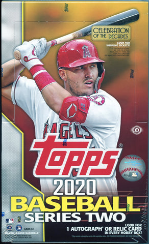 2020 Topps Series 2 Baseball Hobby Box
