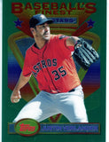 2020 Topps Finest Flashbacks Jumbo Box Topper Justin Verlander #103 (Seller: CY)