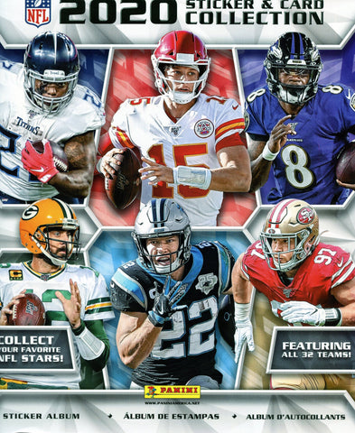 2020 Panini NFL Sticker Collection Football Album