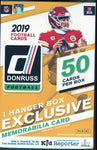 2019 Panini Donruss Football Hanger Box