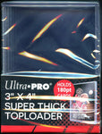"Ultra Pro Super Thick 180PT 3""x 4"" Toploader 10ct Pack"
