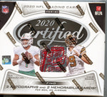 2020 Panini Certified NFL First Off The Line Premium Edition FOTL Box