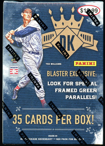 2017 Panini Diamond Kings Blaster Box (7 Packs)